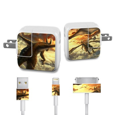 Apple iPad Charge Kit Skin - Over the Clouds