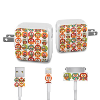 Apple iPad Charge Kit Skin - Owls Family