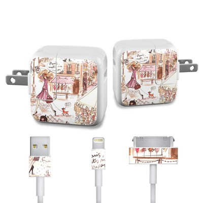 Apple iPad Charge Kit Skin - Paris Makes Me Happy