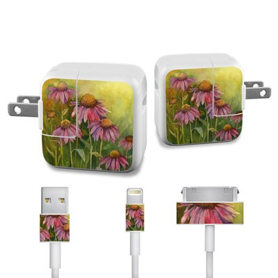 Apple iPad Charge Kit Skin - Prairie Coneflower