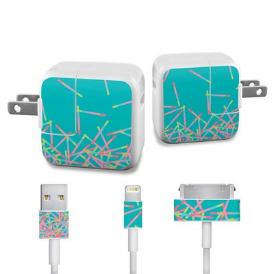 Apple iPad Charge Kit Skin - Pop Rocks Wands