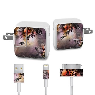 Apple iPad Charge Kit Skin - Purple Rain