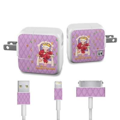 Apple iPad Charge Kit Skin - Queen Mother
