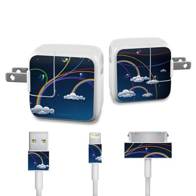 Apple iPad Charge Kit Skin - Rainbows