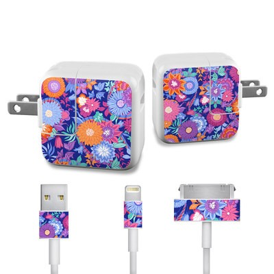 Apple iPad Charge Kit Skin - Ribbon Bouquet