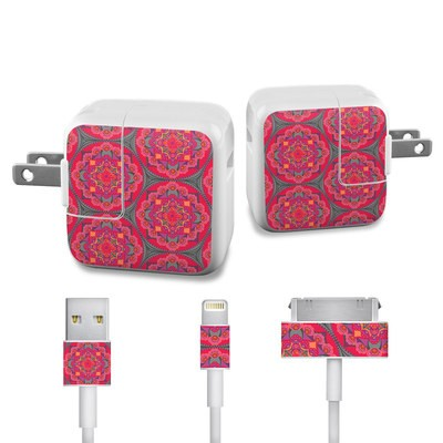 Apple iPad Charge Kit Skin - Ruby Salon