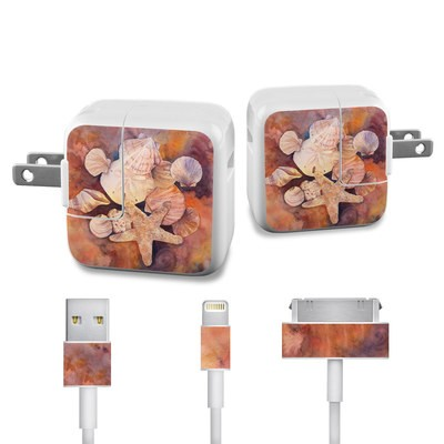 Apple iPad Charge Kit Skin - Sea Shells