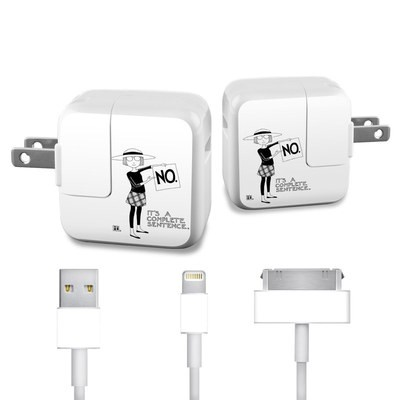 Apple iPad Charge Kit Skin - Sentence