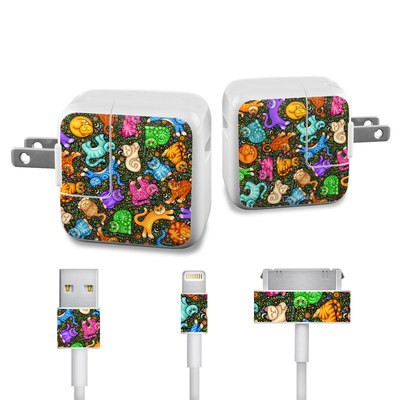Apple iPad Charge Kit Skin - Sew Catty