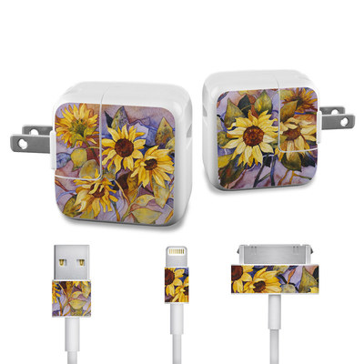 Apple iPad Charge Kit Skin - Sunflower