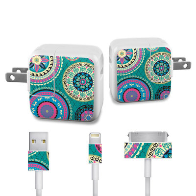 Apple iPad Charge Kit Skin - Silk Road
