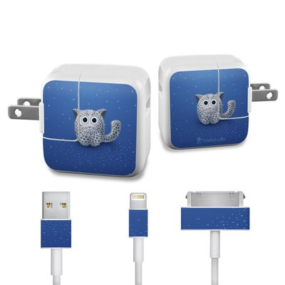 Apple iPad Charge Kit Skin - Snow Leopard