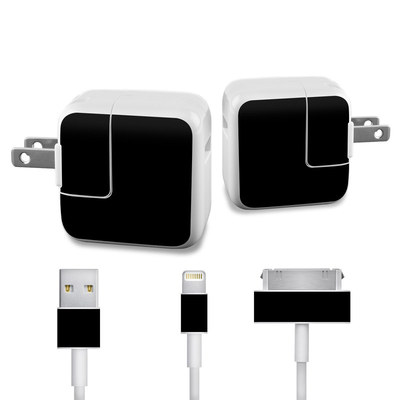 Apple iPad Charge Kit Skin - Solid State Black