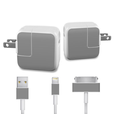 Apple iPad Charge Kit Skin - Solid State Grey