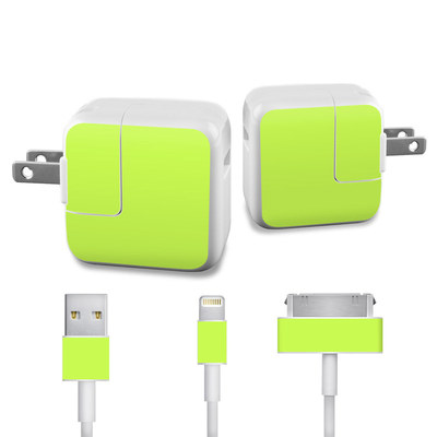Apple iPad Charge Kit Skin - Solid State Lime