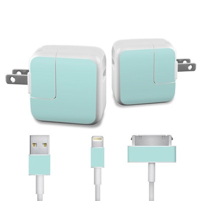Apple iPad Charge Kit Skin - Solid State Mint