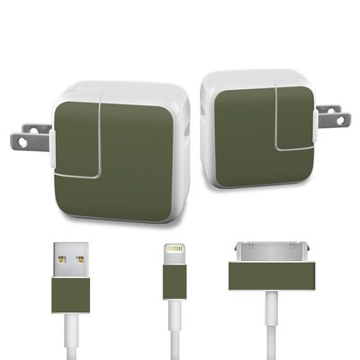 Apple iPad Charge Kit Skin - Solid State Olive Drab