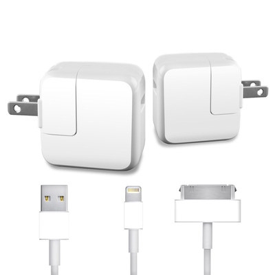 Apple iPad Charge Kit Skin - Solid State White