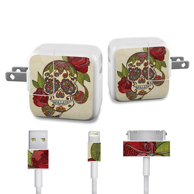 Apple iPad Charge Kit Skin - Sugar Skull