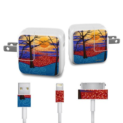 Apple iPad Charge Kit Skin - Sunset Moon