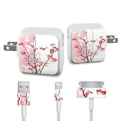 Apple iPad Charge Kit Skin - Pink Tranquility