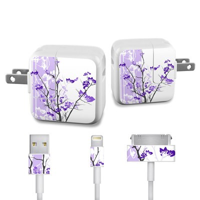 Apple iPad Charge Kit Skin - Violet Tranquility
