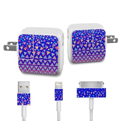 Apple iPad Charge Kit Skin - Triangle Dance