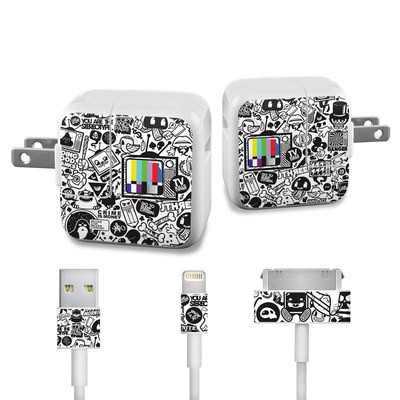 Apple iPad Charge Kit Skin - TV Kills Everything