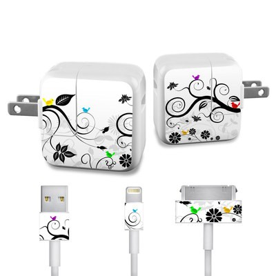 Apple iPad Charge Kit Skin - Tweet Light