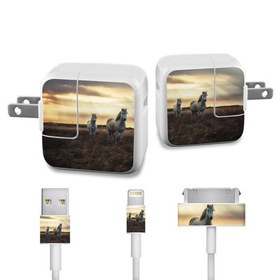 Apple iPad Charge Kit Skin - Hornless Unicorns