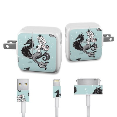 Apple iPad Charge Kit Skin - Vintage Mermaid