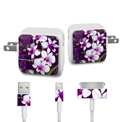 Apple iPad Charge Kit Skin - Violet Worlds