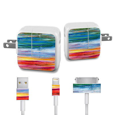 Apple iPad Charge Kit Skin - Waterfall