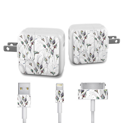 Apple iPad Charge Kit Skin - Wildflowers