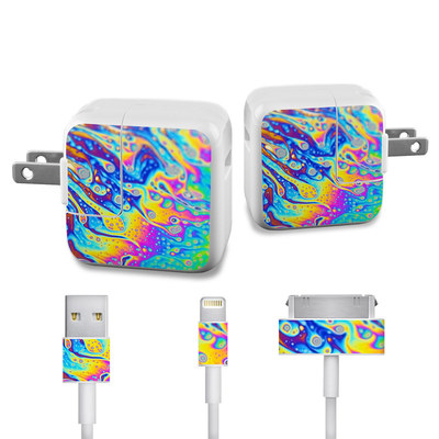 Apple iPad Charge Kit Skin - World of Soap
