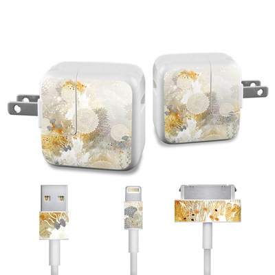 Apple iPad Charge Kit Skin - White Velvet