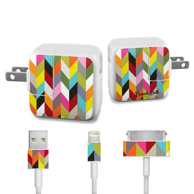 Apple iPad Charge Kit Skin - Ziggy Condensed