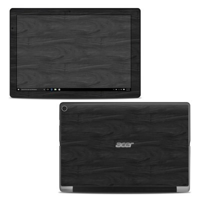 Acer Switch Alpha 12 Skin - Black Woodgrain