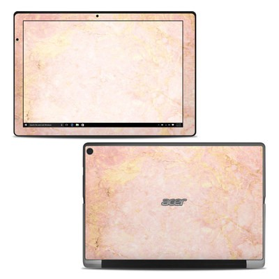 Acer Switch Alpha 12 Skin - Rose Gold Marble