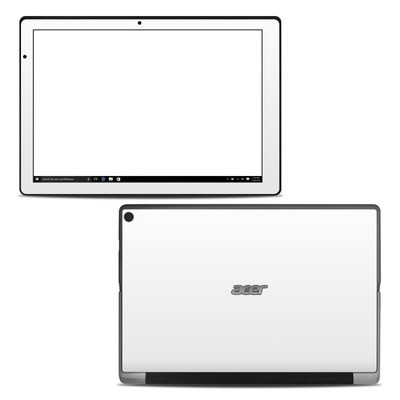 Acer Switch Alpha 12 Skin - Solid State White