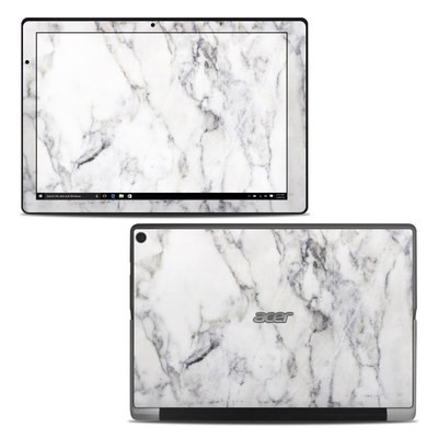 Acer Switch Alpha 12 Skin - White Marble