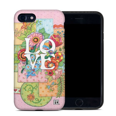 Apple iPhone SE 2020 Hybrid Case - Love And Stitches