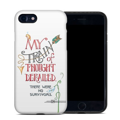 Apple iPhone SE 2020 Hybrid Case - Train Derailed