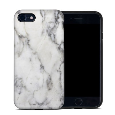 Apple iPhone SE 2020 Hybrid Case - White Marble