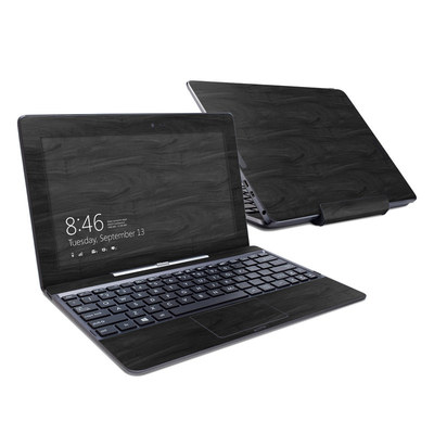 Asus Transformer Book T100T Skin - Black Woodgrain