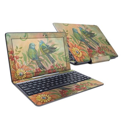 Asus Transformer Book T100T Skin - Splendid Botanical