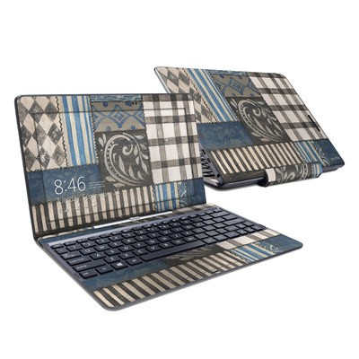 Asus Transformer Book T100T Skin - Country Chic Blue