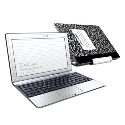 Asus Transformer Book T100T Skin - Composition Notebook