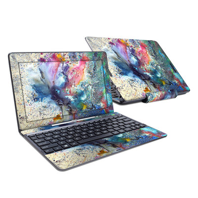 Asus Transformer Book T100T Skin - Cosmic Flower
