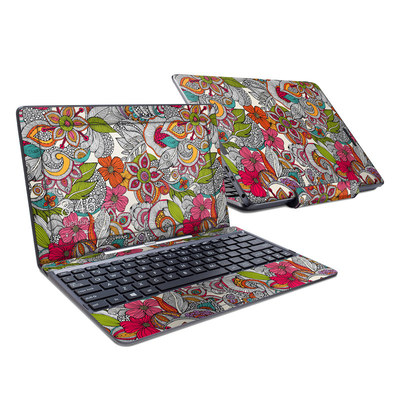 Asus Transformer Book T100T Skin - Doodles Color